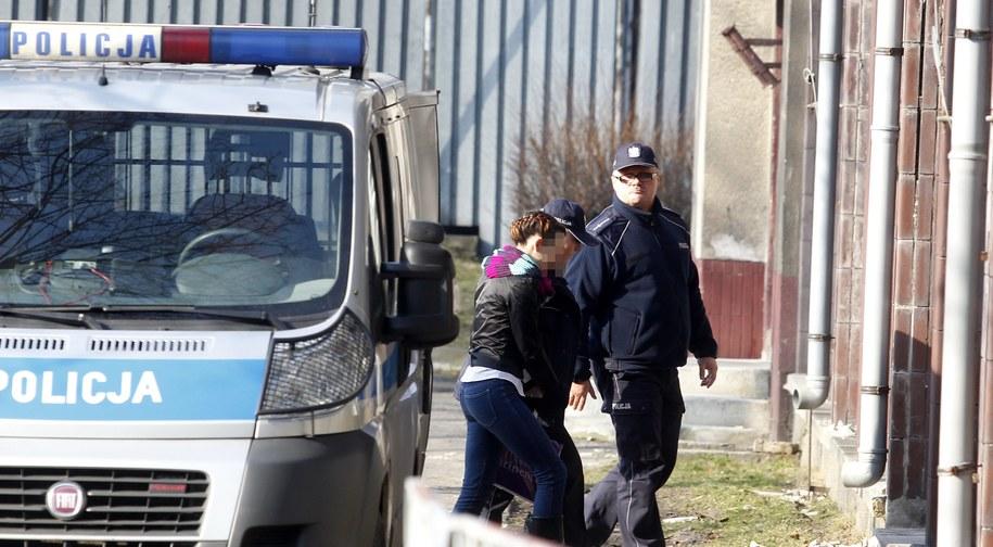 Katarzyna W. odpowiada za zabójstwo swojej córki /Andrzej Grygiel /PAP