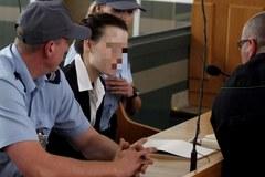 Katarzyna W. podczas ogłoszenia wyroku