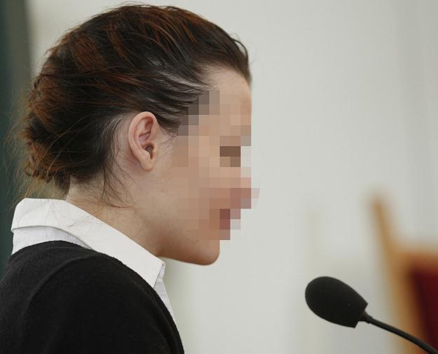 Katarzyna W. podczas procesu /fot. Andrzej Grygiel /PAP
