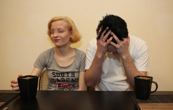 Katarzyna W. z mężem Bartkiem /Cezary Pecold /East News