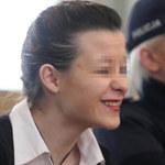 Katarzyna W. zadała szyku w sądzie