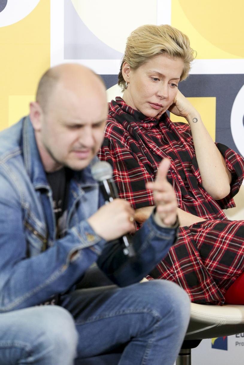 Katarzyna Warnke i Adam Woronowicz /AKPA /AKPA