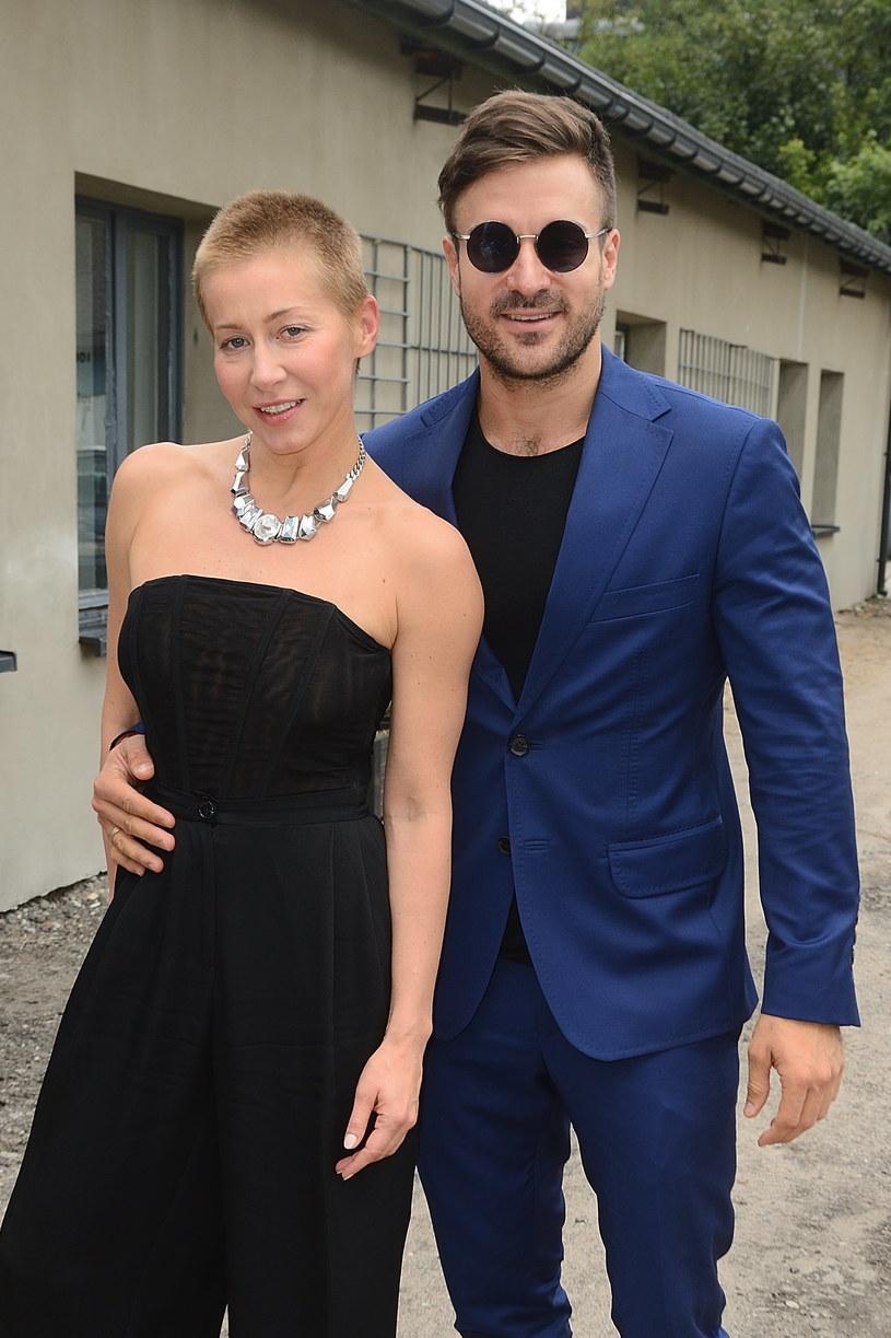 Katarzyna Warnke i Piotr Stramowski /Jarosław Antoniak /MWMedia
