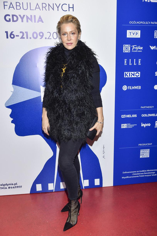 Katarzyna Warnke na 44. Festiwalu Polskich Filmów Fabularnych w Gdyni /Kurnikowski /AKPA
