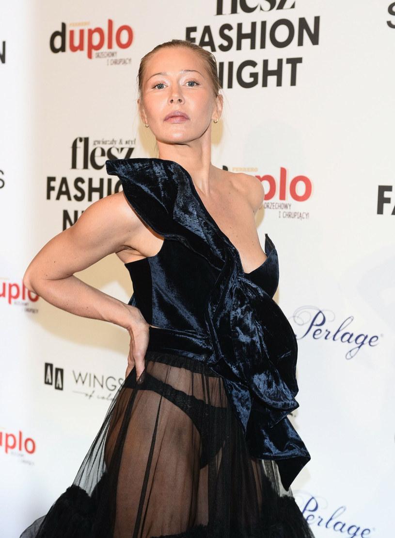 Katarzyna Warnke na Flesz Fashion Night 2021 /East News