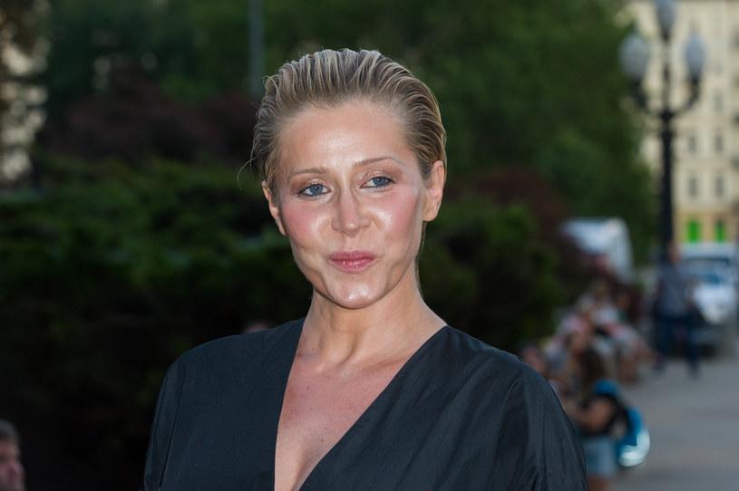 Katarzyna Warnke została mamą we wrześniu 2019 roku /Artur Zawadzki /Reporter