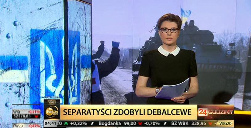 Katarzyna Werner jest dziennikarką TVN /TVN24