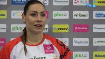 Katarzyna Zaroślińska-Król: Pokazałyśmy waleczność, serce i charakter (POLSAT SPORT). WIDEO