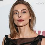 Katarzyna Zawadzka zaliczyła wpadkę na wernisażu