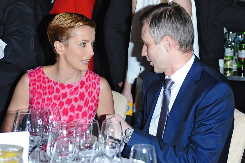 Katarzyna Zielińska i jej narzeczony Wojciech Domański /East News