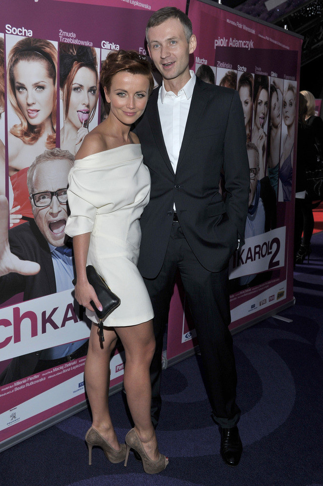 Katarzyna Zielińska i Wojciech Domański  /Jacek Kurnikowski /AKPA