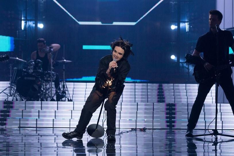 Katarzyna Zielińska jako Lauri Ylönen z The Rasmus /Polsat