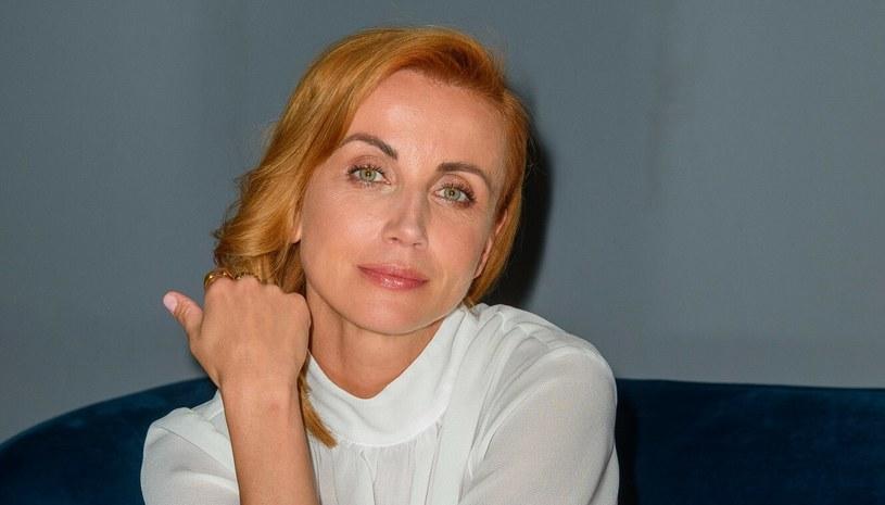 Katarzyna Zielińska jest piękną kobietą, ale nawet jej nie omijają przykre sytuacje /Artur Zawadzki /Reporter