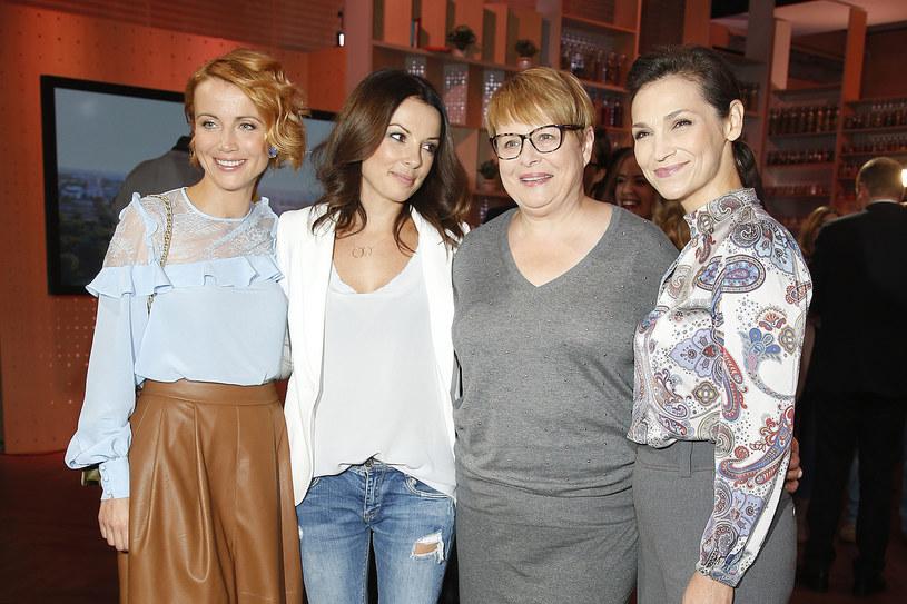 Katarzyna Zielińska, Katarzyna Glinka, Ilona Łepkowska, Olga Bończyk /AKPA