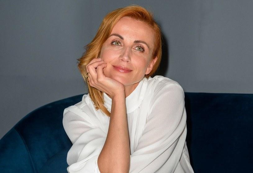Katarzyna Zielińska ma rewelacyjną figurę i regularnie ćwiczy, aby ją zachować /Artur Zawadzki /Reporter