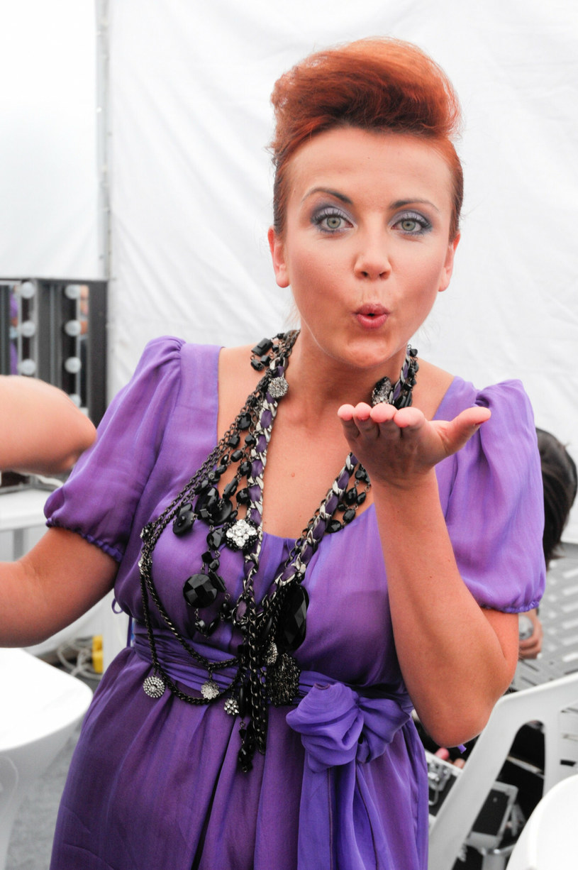 Katarzyna Zielińska, rok 2008 /Michal WARGIN/East News /East News