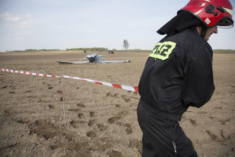 Katastrofa awionetki pod Łowiczem (zdjęcie ilustracyjne) /Marek Maliszewski  /Reporter