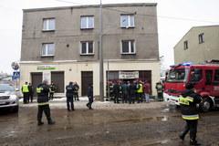 Katastrofa budowlana w Katowicach, zawalił się strop w kamienicy