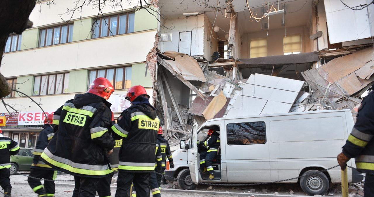 Katastrofa budowlana w Łodzi