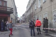 Katastrofa budowlana w Mirsku. Po wybuchu gazu zawaliły się 2 piętra budynku