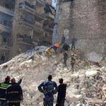 Katastrofa budowlana w Syrii. Jest wielu rannych