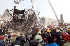 Katastrofa budowlana w Teheranie. Zginęło 30 strażaków