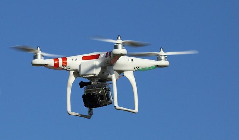Katastrofa drona mogła zakończyć się tragicznie /123RF/PICSEL