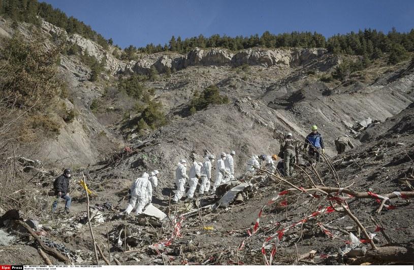 Katastrofa Germanwings w Alpach /Yves MALENFER/sipa/SIPA /East News