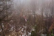 Katastrofa helikoptera pod Pszczyną. Nie żyją dwie osoby
