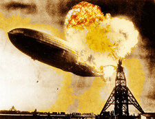 Katastrofa Hindenburga. Gigant runął w płomieniach