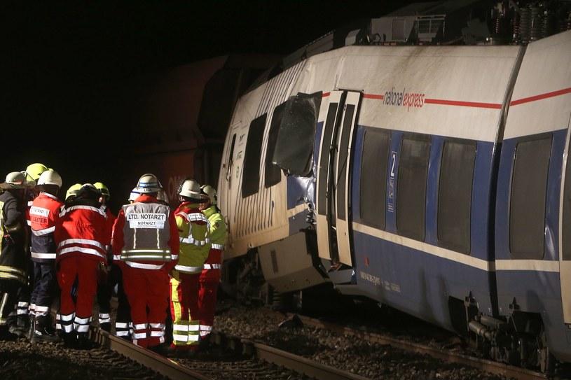 Katastrofa kolejowa w okolicach Dusseldorfu /AFP