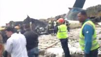 Katastrofa lotnicza w Nepalu