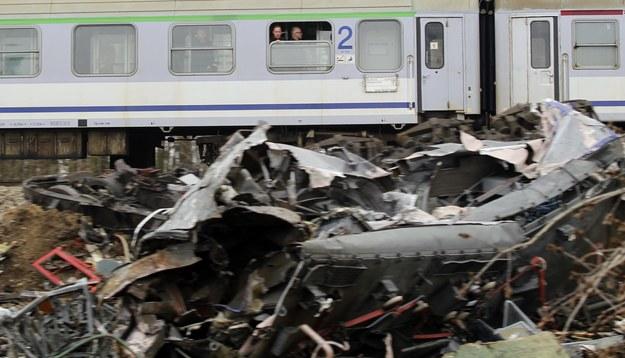 Katastrofa pod Szczekocinami była jednym z najtragiczniejszych wypadków w historii polskich kolei / Andrzej Grygiel    /PAP