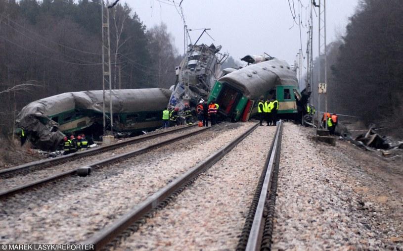 Katastrofa pod Szczekocinami /Marek Lasyk  /Reporter