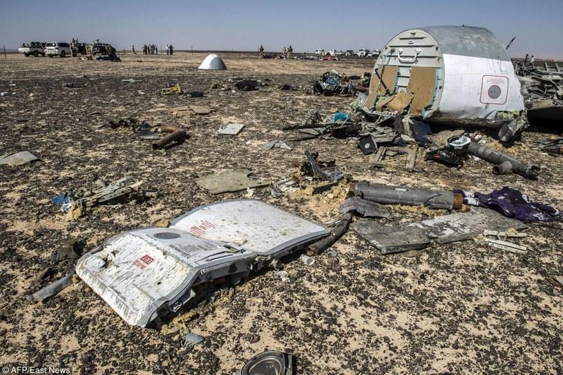 Katastrofa rosyjskiego samolotu na Synaju /KHALED DESOUKI /East News