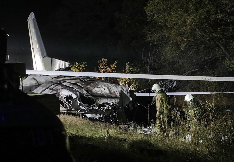 Katastrofa samolotu na Ukrainie /SERGEY KOZLOV /PAP/EPA