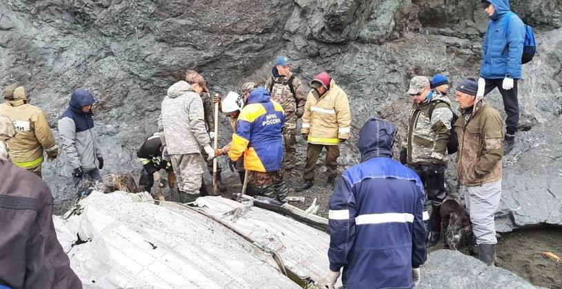 Katastrofa samolotu pasażerskiego An-26 w rejonie Kamczatki /PAP