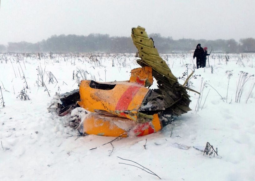 Katastrofa samolotu pasażerskiego pod Moskwą /ALEXANDER OLEINIKOV /PAP/EPA