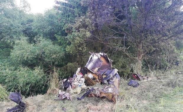 Katastrofa samolotu T 28 Trojan. 2 osoby nie żyją