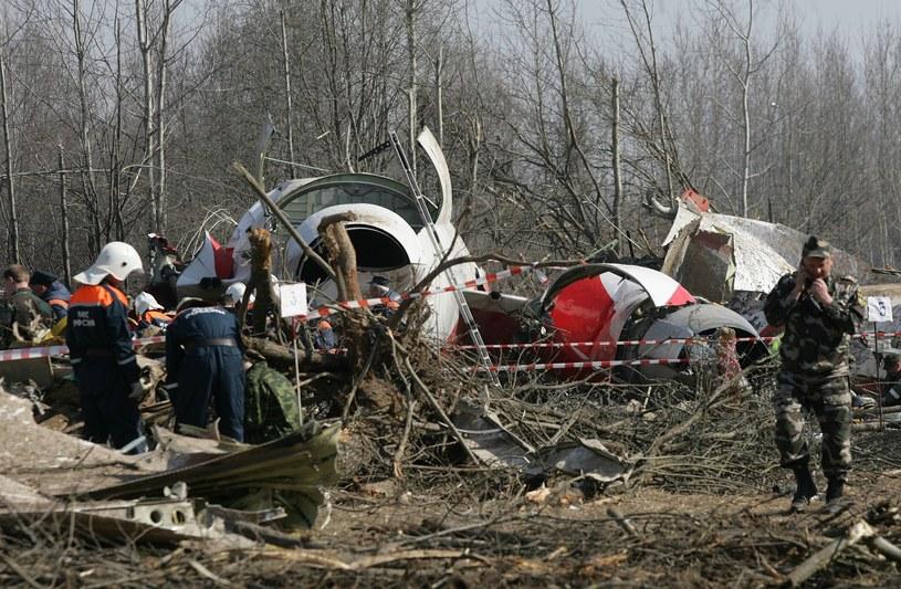 Katastrofa samolotu TU-154M pod Smoleńskiem /Stefan Maszewski /Reporter