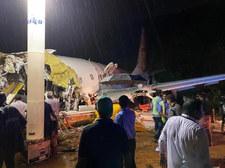Katastrofa samolotu w Indiach. Maszyna rozbiła się podczas lądowania