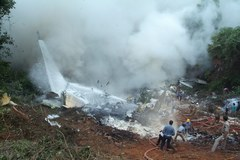 Katastrofa samolotu w Indiach