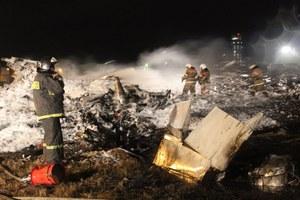 Katastrofa samolotu w Rosji. Piloci zgłaszali problemy techniczne