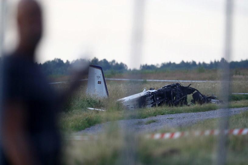 Katastrofa samolotu w Szwecji /JEPPE GUSTAFSSON /PAP/EPA