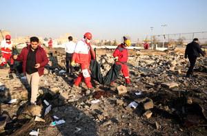 Katastrofa samolotu w Teheranie. Jest nagranie wideo