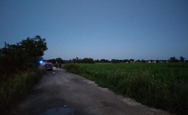 Katastrofa śmigłowca w Strzegomiu. Dwie osoby nie żyją