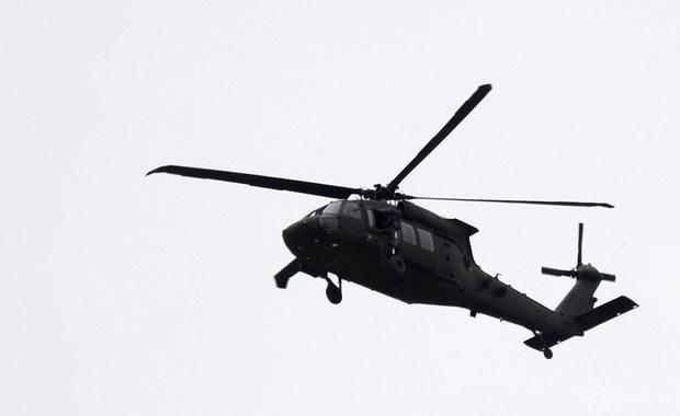 Katastrofa śmigłowca w USA. Nie żyje trzech żołnierzy Gwardii Narodowej