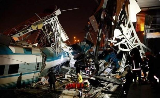 Katastrofa szybkiego pociągu w Turcji. Co najmniej dziewięć ofiar
