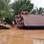 Katastrofa tamy w Laosie. Są ofiary śmiertelne, setki zaginionych