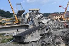 Katastrofa w Genui. Służby publikują nowe nagranie